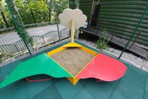 детская площадка на горе ахун фото